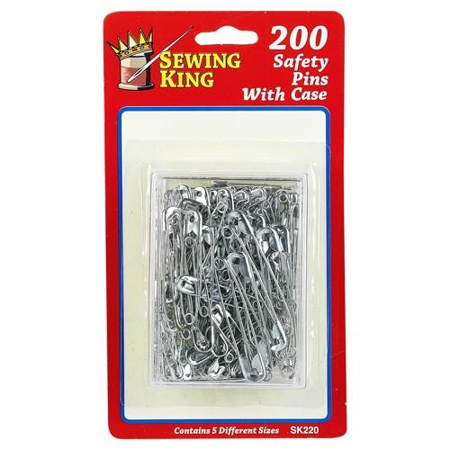 200 Safety Pins