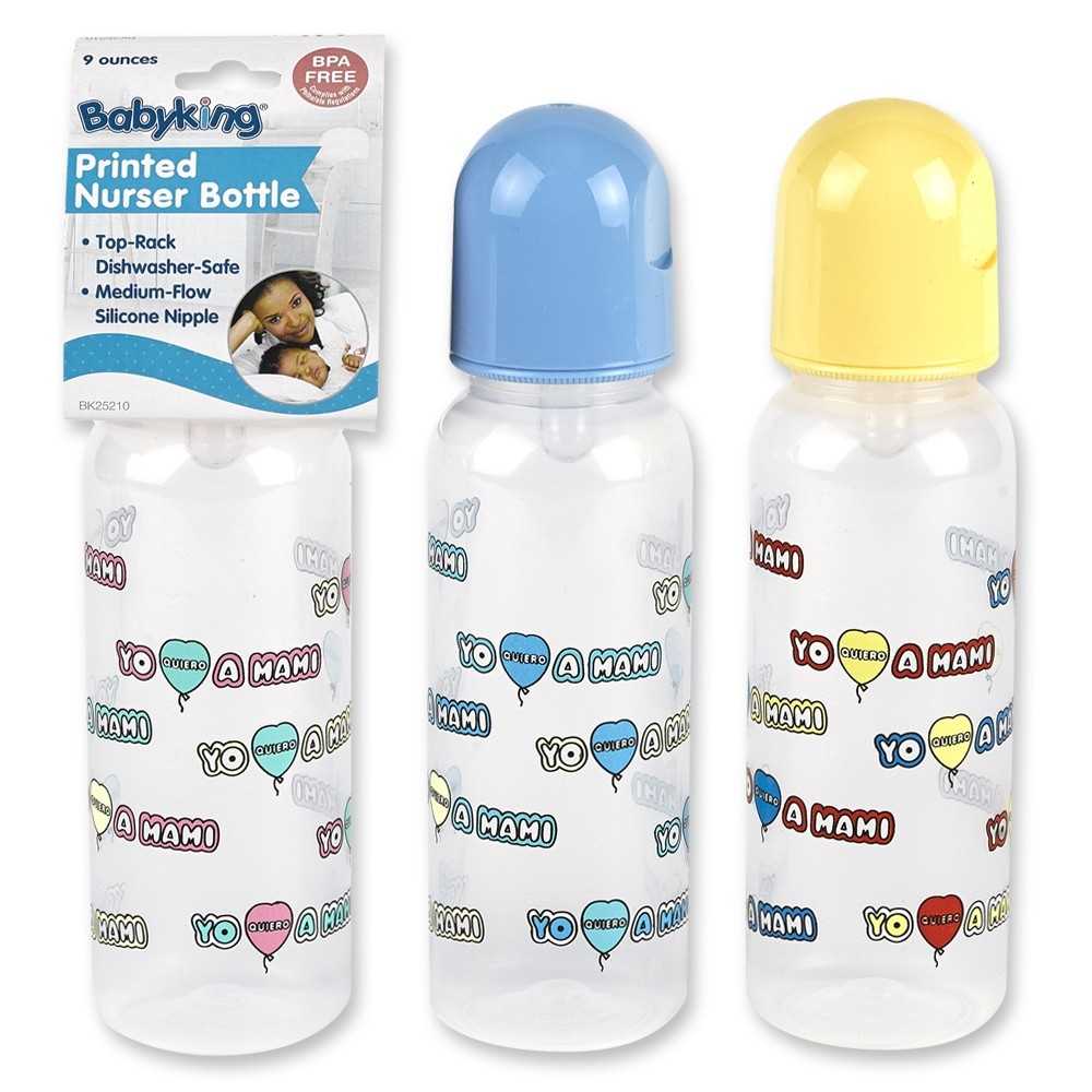 9 oz. Spanish Mami Nurser Bottle BPA Free