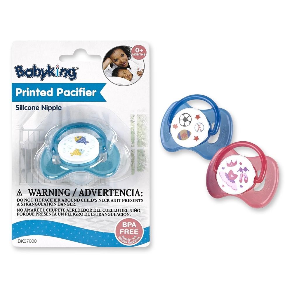 Printed Pacifier  BPA Free