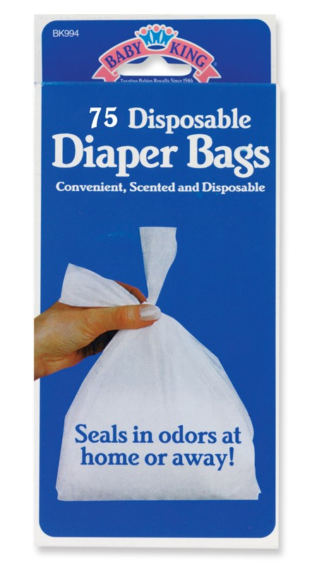 75 Disposable Diaper Bags