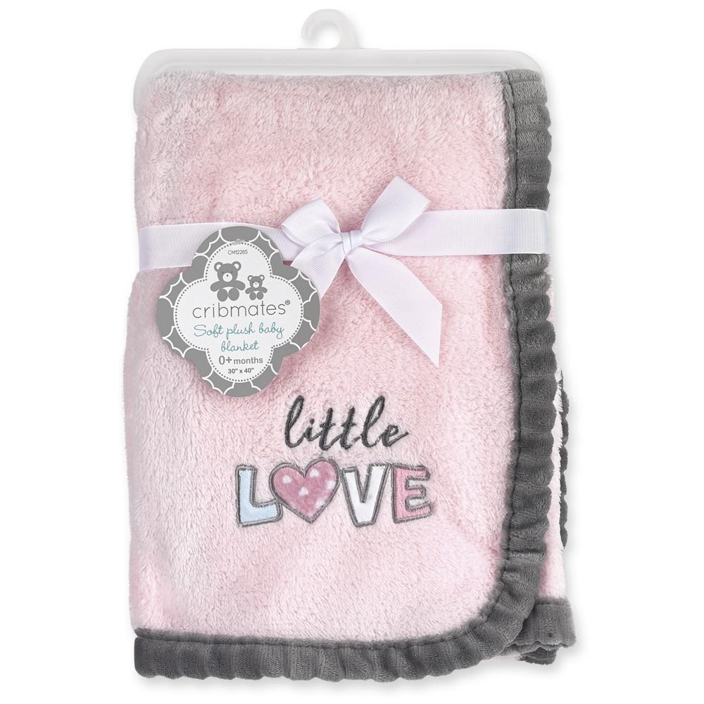 "Little Love 30"" x  40"" Soft Plush Baby Blanket"