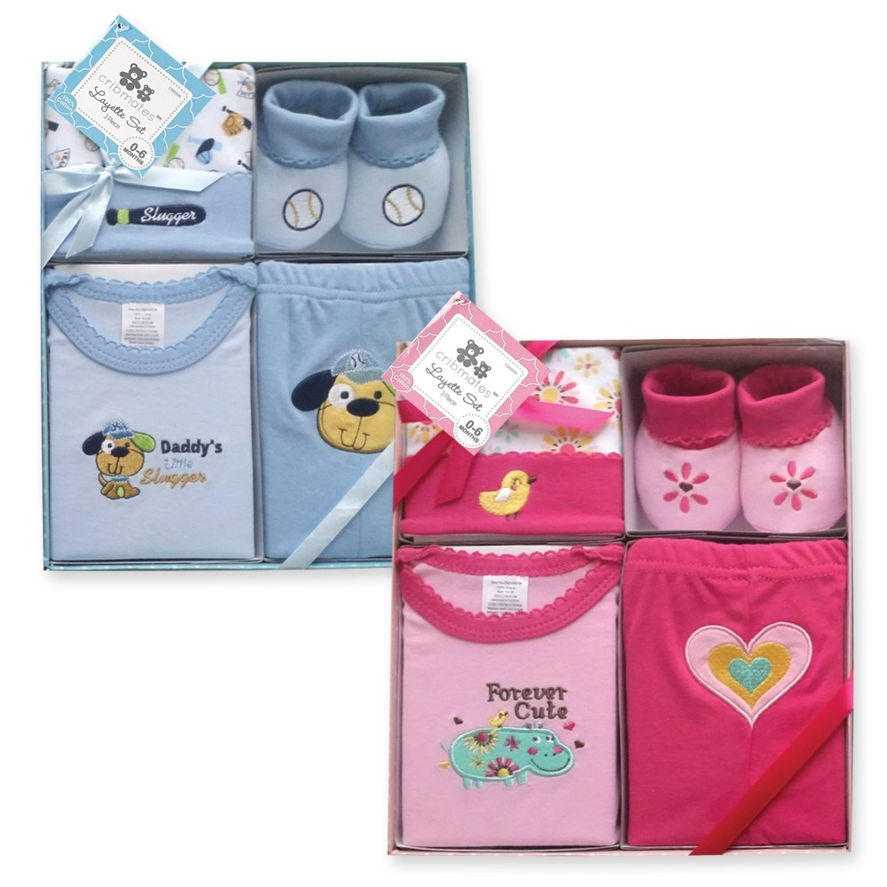 4 Piece Layette Set