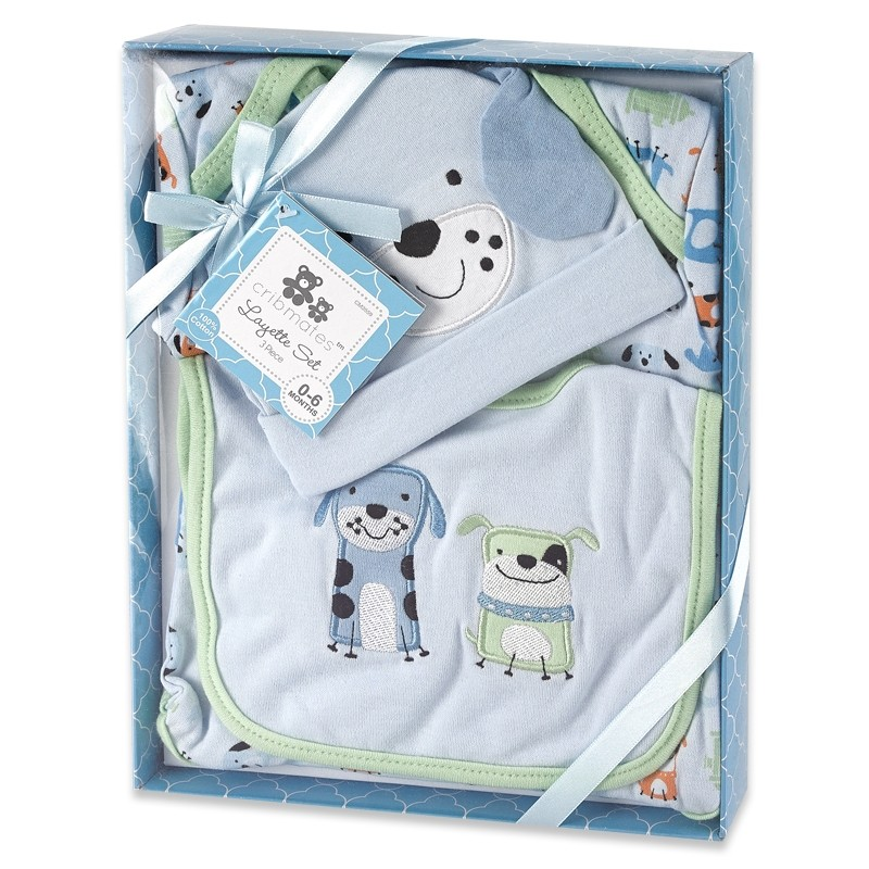 3 Piece Layette Gift Set