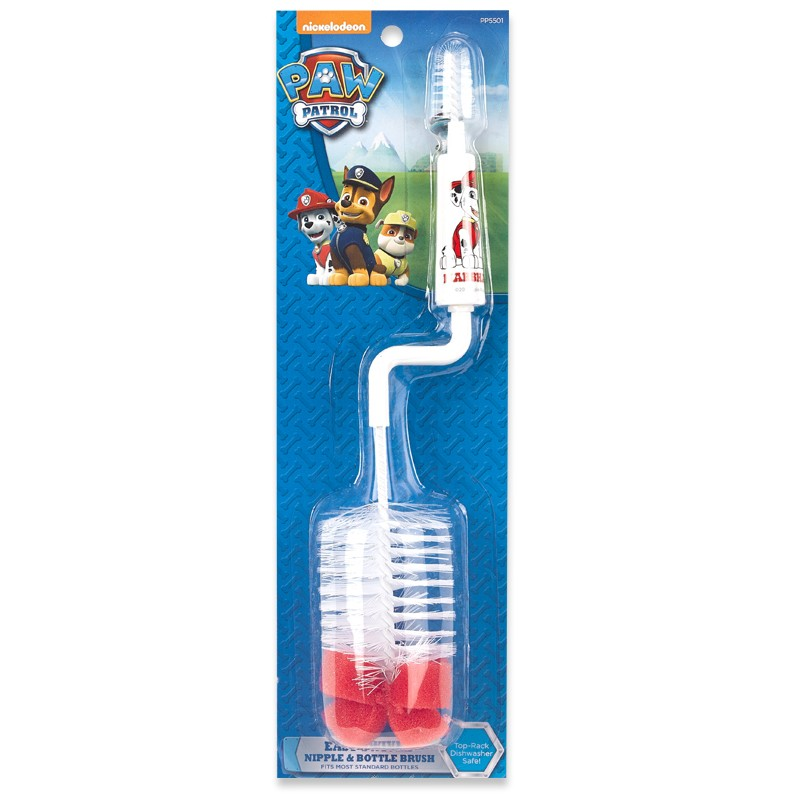Paw Patrol 1-pack nipple & bottle brush