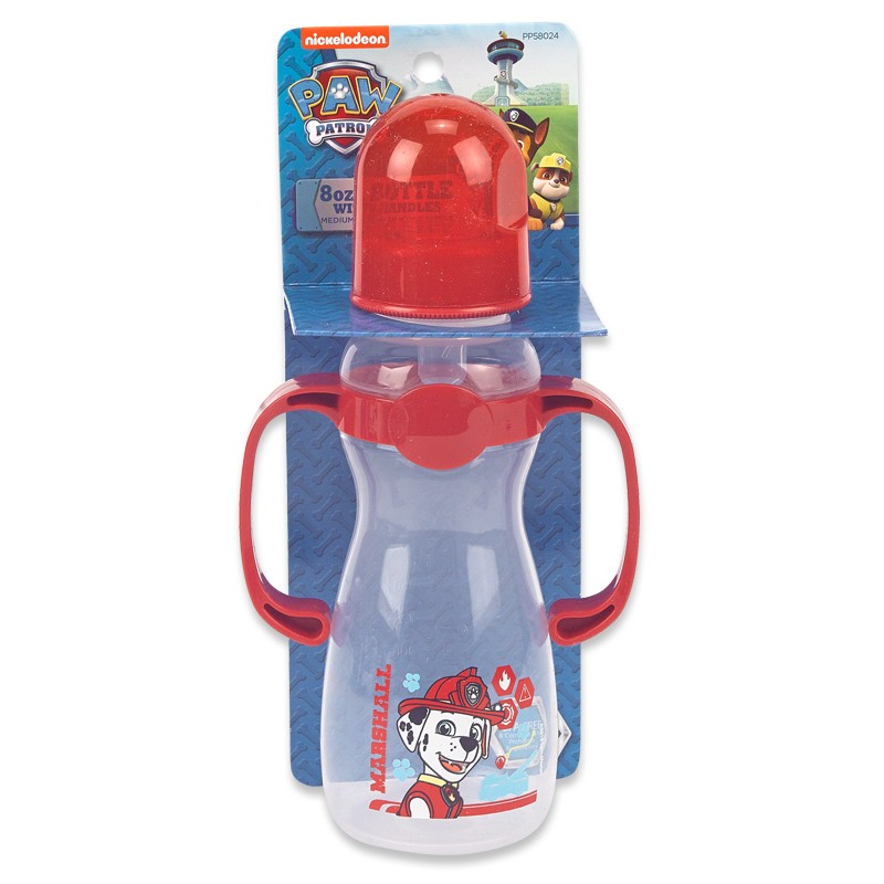 Paw Patrol 8 oz. bottle with handles