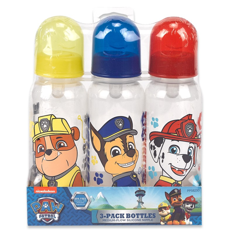 Paw Patrol 3-pack bottles