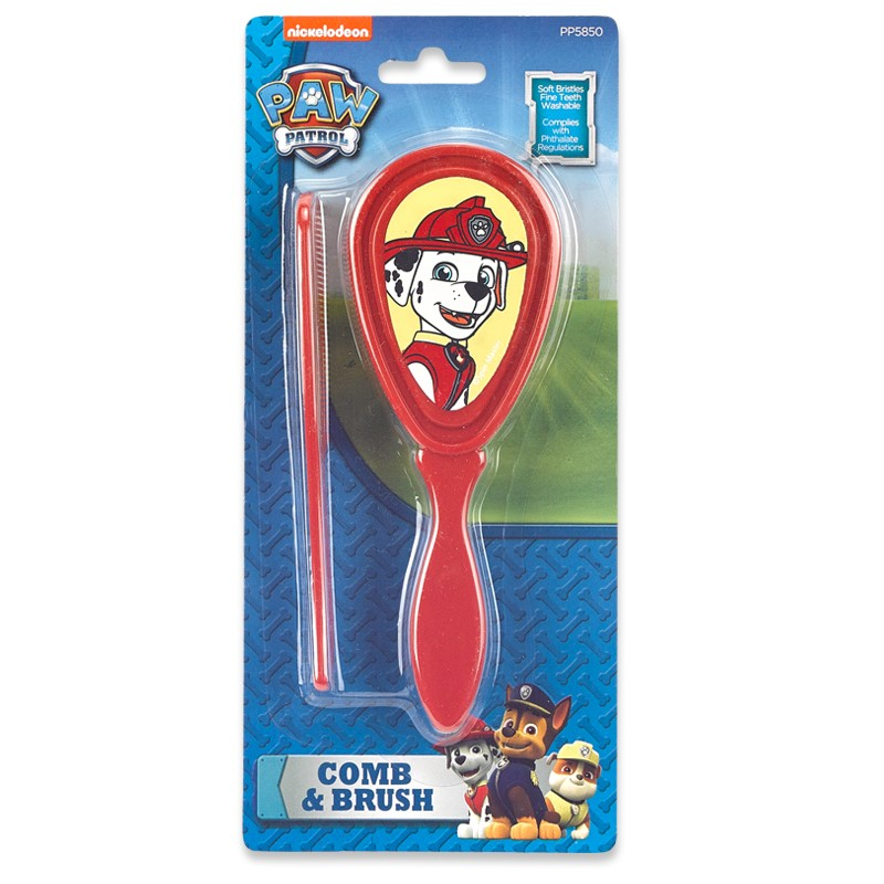 Paw Patrol Comb & Brush