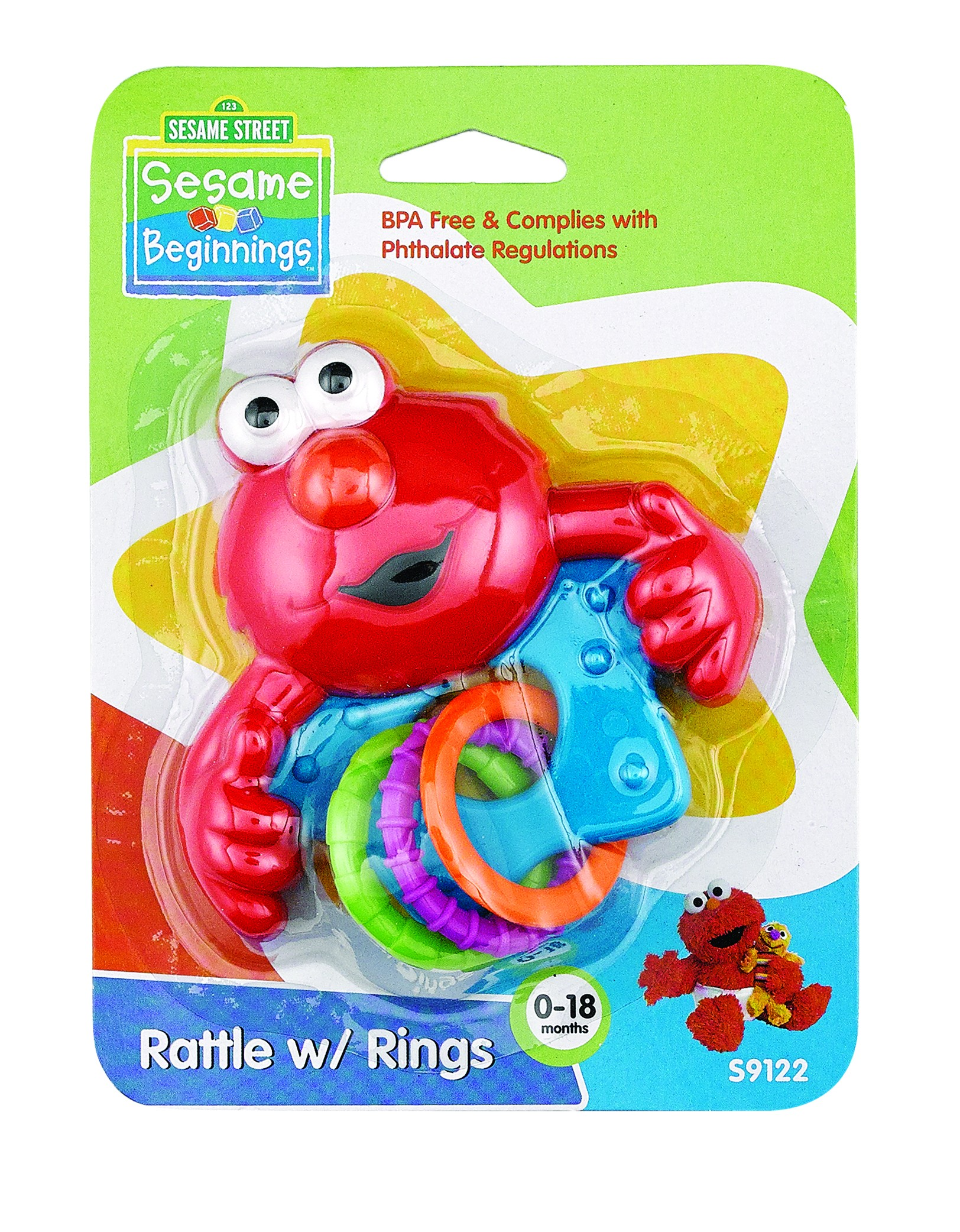 Sesame Street Rattle