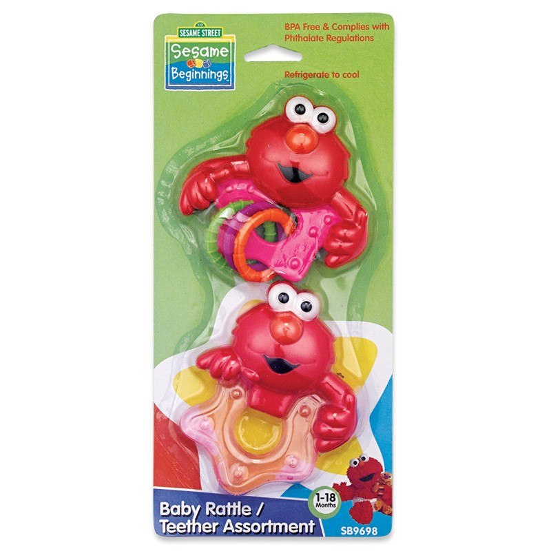2pc Rattle & Teether Set
