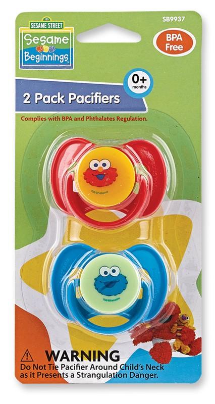2PK Pacifiers BPA Free