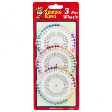 3 Pin Wheels