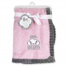 "Little Dreamer 30"" x  40"" Soft Plush Baby Blanket"