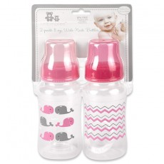 2 pack 11 oz. Wide-Neck Bottles