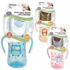 Wide Neck Bottle with Handles