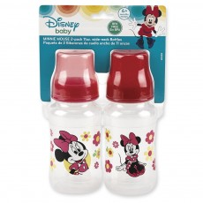 2 Pack 10 oz. Wide Neck Bottles