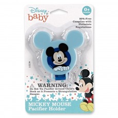 Mickey and Minnie Pacifier Clip
