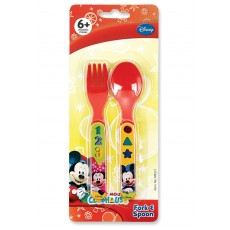 Plastic Fork and Spoon Set