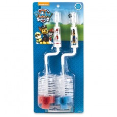 Paw Patrol 2-pack nipple & bottle brush