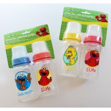 Sesame Street 2-Pack 11oz. Wide-Neck Bottles